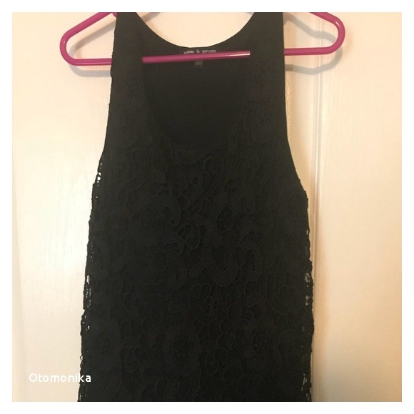 Cable and Gauge Clothing Plus Size Cable & Gauge tops Lace Tank