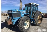 Ford New Holland Dealers In Nebraska ford New Holland 8730 4wd Tractor In Lincoln Nebraska United